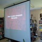 11 maja w PiMBP przy ul. Towarowej 20 z okazji Tygodnia Bibliotek rozpoczął się cykl multimedialnych spotkań edukacyjnych mających na celu przybliżyć historię bibliotek w Skarżysku – Kamiennej. W pierwszym […]