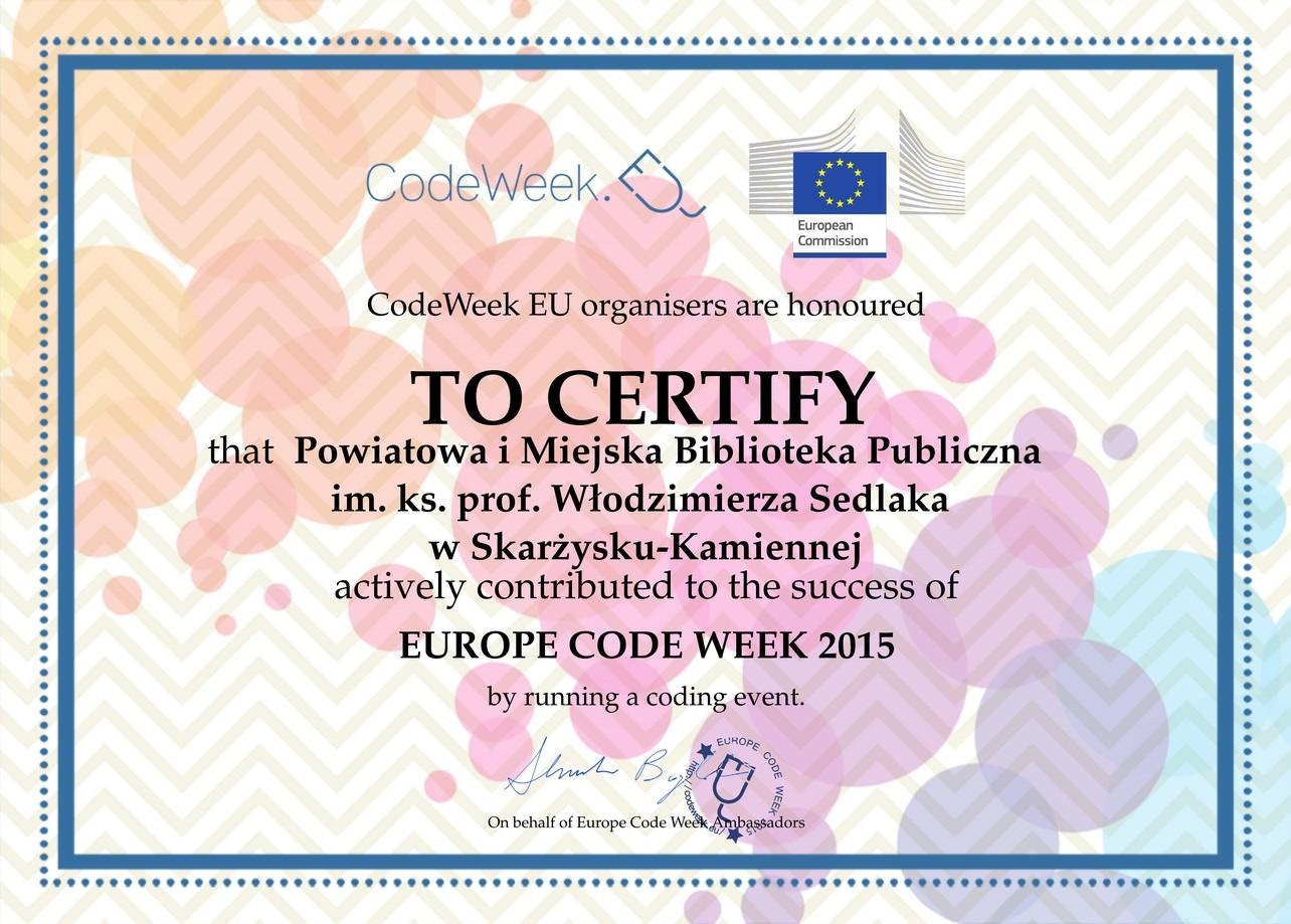 certyfikatCodeWeek