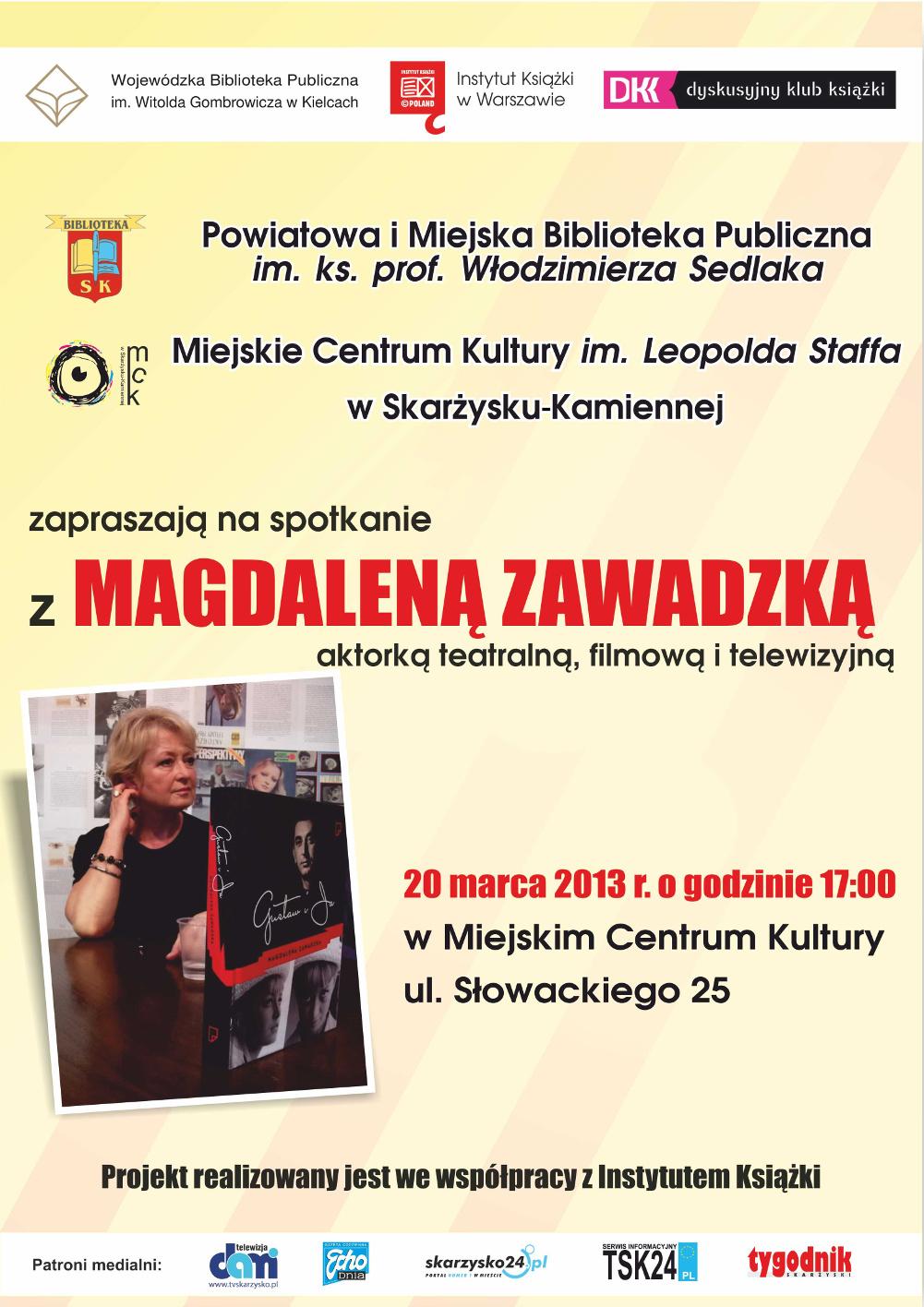 plakat-spotkanie-Magdalena-Zawadzka-m