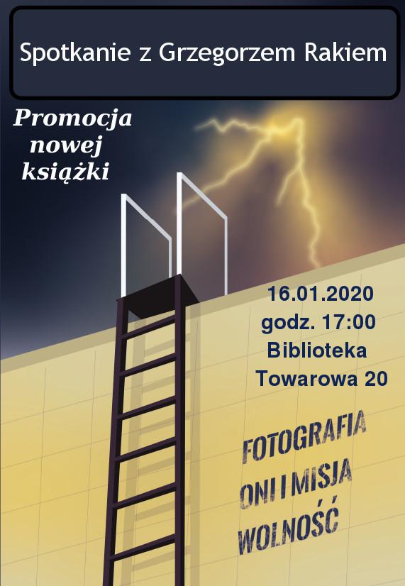 Plakat-spotkanie-autorskie-z-Grzegorzem-Rakiem