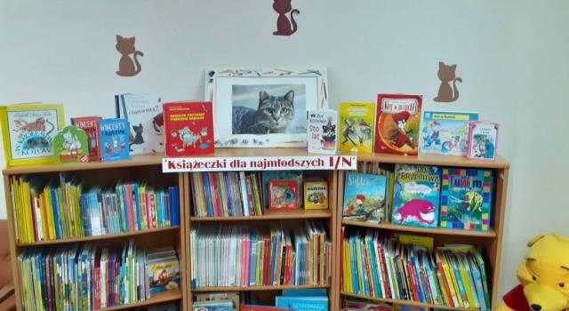 Książki z kotami