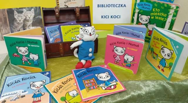 Książki z serii Kici Kocia