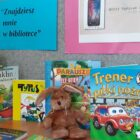 Filia biblioteczna nr 4 (ul. Sportowa 30) przygotowała wystawę książek ze zbiorów biblioteki. Zapraszamy do czytania. Sięgnij po dobrą książkę, przyjdź, zobacz, wypożycz, przeczytaj !