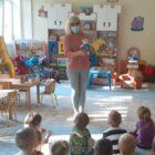 07.10.2021 r. w ramach akcji Cała Polska czyta dzieciom w Przedszkolu Publicznym nr 6 odbyło się spotkanie z książką. Na zaproszenie p. Martyny, bibliotekarz p. Barbara Rogozińska, opowiadała o krainie […]