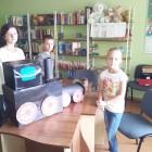 """""""Mam pomysł"""" – to cykl wakacyjnych zabaw i zajęć uwzględniających propozycje i zainteresowania uczestników spotkań w filii dla dzieci przy ul. Towarowej. Dzieci postanowiły wykonać lokomotywę jaką opisuje w wierszu […]"""