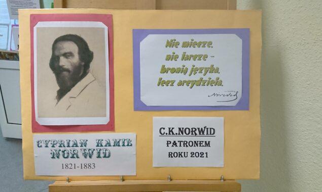 """Rok 2021 został ogłoszony przez Sejm RP , rokiem C.K.Norwida. """"Nie miecze,nie tarcze – bronią języka,lecz arcydzieła"""" to wystawa ukazująca życie i twórczość Cypriana Kamila Norwida, która jest dostępna dla […]"""