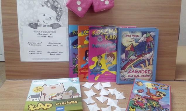 Na czas ferii zimowych Oddział dziecięcy biblioteki publicznej przy ulicy Sezamkowej 23 przygotował szereg atrakcji. Jak co roku dzieci mogły uczestniczyć w zajęciach literackich, plastycznych, edukacyjnych i ruchowych, które bibliotekarze […]
