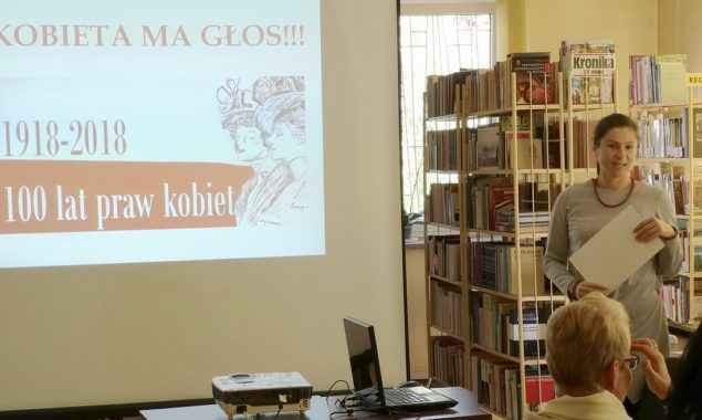 5 października 2018 r. w Czytelni przy ul. Towarowej odbyło się pierwsze z cyklu spotkań edukacyjnych organizowanych w Bibliotece z okazji 100. rocznicy nadania kobietom praw wyborczych orazw ramach obchodów […]