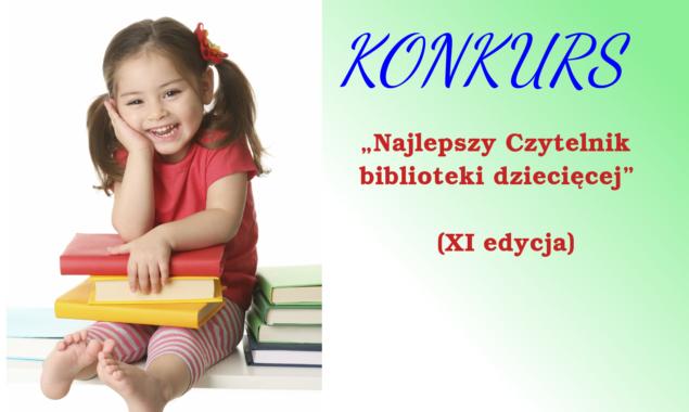 """Konkurs """"Najlepszy Czytelnik biblioteki dziecięcej"""" (XI edycja)w roku 2020 zostaje odwołany"""