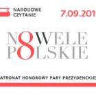 """Zapraszamy mieszkańców miasta do udziału w tegorocznym Narodowym Czytaniu, które odbywać się będzie pod hasłem """"NOWELE POLSKIE"""". Już po raz ósmy w ramach ogólnopolskiej akcji, zainicjowanej przez prezydenta RP będziemy […]"""