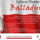 """Tegoroczną lekturą Narodowego Czytania, które zaplanowane zostało na pierwszą sobotę września, jest """"Balladyna"""" Juliusza Słowackiego. Zdradził to już w zeszłym roku Prezydent Andrzej Duda, na zakończenie Narodowego Czytania 2019, nie […]"""