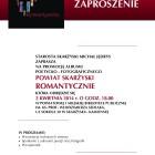 W najbliższy czwartek 3 kwietnia 2014 r. o godz. 18.00 w filii Powiatowej i Miejskiej Biblioteki Publicznej w Skarżysku-Kamiennej (ul. Sokola 38) odbędzie się promocja najnowszej publikacji wydanej przez powiat […]
