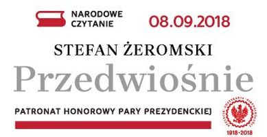 Prezydent Rzeczpospolitej Polskiej Andrzej Duda skierował przesłanie zachęcając do zorganizowania w Skarżysku-Kamiennej akcji, która popularyzuje najwybitniejsze dzieła polskiej literatury. W roku obchodów stulecia odzyskania przez Polskę niepodległości lekturą Narodowego Czytaniajest […]