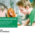 """Szanowni Państwo, Fundacja BGŻ BNP Paribas rozpoczęła rekrutację absolwentów szkół gimnazjalnych i podstawowych do *Programu stypendialnego """"Klasa""""*. *Nauka w najlepszych liceach w całej Polsce i stypendium*, umożliwiające pokrycie kosztów kształcenia […]"""