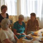 """W dniu 25.05 (piątek) odbyło się spotkanie klubu. Dyskutowano nad przeczytana książką Olgi Tokarczuk """"Anna In w grobowcach świata"""". W spotkaniu brało udział 6 osób. Książka wpisuje się w […]"""