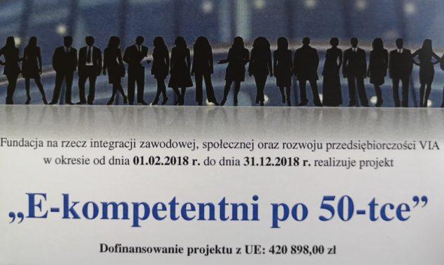 """W Bibliotece na ul. Towarowej prowadzone są zajęcia z obsługi komputera i korzystania z Internetu w ramach projektu """"E-kompetentni po 50-tce"""". Zajęcia skierowane są do osób 50+. Na zajęciach uczestnicy […]"""
