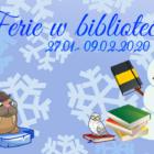 """Kalendarz imprez przygotowanych na okres ferii zimowych w Bibliotece.  """"Z nami nuda się nie uda"""". Filia Nr 1 – ul. Towarowa Zajęcia będą się odbywać w poniedziałki, środy i […]"""