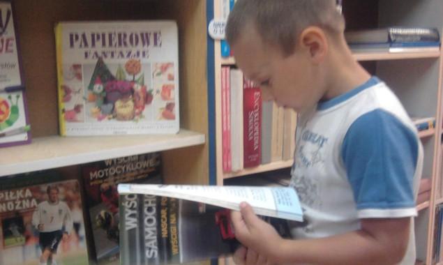 Baju baju baj – CZYTAMY DZIECIOM Dnia 9, 15 i 16 września 2014 r. bibliotekę odwiedziły dzieci z Przedszkola nr 6 i 7. Było to pierwsze spotkanie z książką w […]