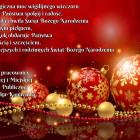 Niech magiczna moc wigilijnego wieczoru przyniesie Państwu spokój i radość. Niech każda chwila Świąt Bożego Narodzenia żyje własnym pięknem, a Nowy Rok obdaruje Państwa pomyślnością i szczęściem. Najpiękniejszych i rodzinnych […]