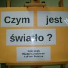 """We wrześniu w filii nr 2 biblioteki przy ulicy Sezamkowej można było oglądać wystawę pt. """"Czym jest światło"""". Wystawa została zorganizowana w związku z ogłoszeniem roku 2015 : Rokiem światła […]"""