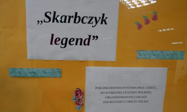 W bibliotece przy ul. Sezamkowej 23 w lipcu została zorganizowana pokonkursowa wystawa prac dzieci. Konkurs na ilustrację wybranej legendy polskiej był organizowany z okazji 1050 rocznicy chrztu Polski. Najchętniej ilustrowaną […]