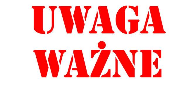 Szanowni Państwo, Od 15 kwietnia do 31 maja Oddział dziecięcy w Filii nr 1 przy ulicy Towarowej będzie niedostępny – przyjmowane będą tylko zwroty. Za utrudnienia przepraszamy i zapraszamy donaszych […]