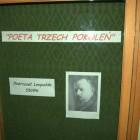 """""""Poeta trzech pokoleń""""– wystawa poświęcona twórczości Leopolda Staffa – ul. Sokola 38."""